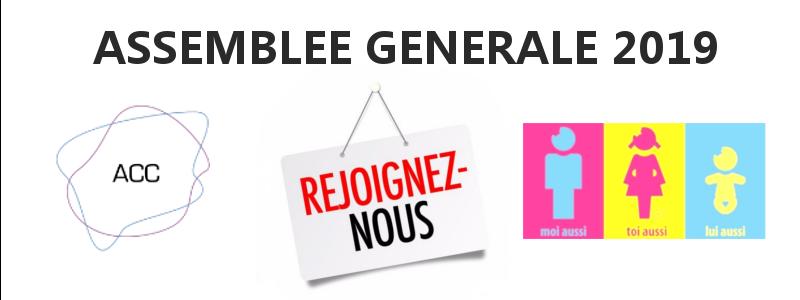 Prochaine AG de l'ACC le 30/11/2019 à Paris  !